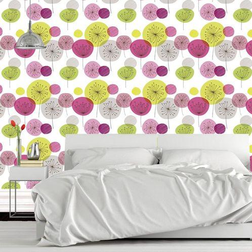 Papel de Parede Adesivo Rolo 0,58x3,00M Floral 93651502