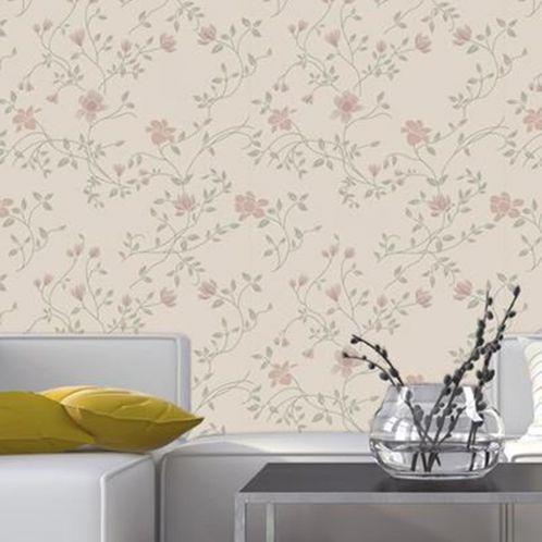 Papel de Parede Adesivo Rolo 0,58x3,00M Floral 93966193