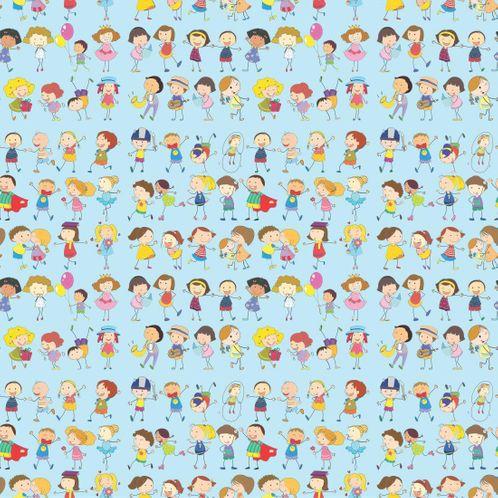 Papel de Parede Adesivo Rolo 0,58x3,00M Infantil 213257479