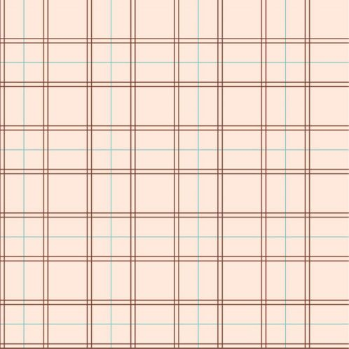Papel de Parede Adesivo Rolo 0,58x3,00M Xadrez Geométrico Rosa 311880257