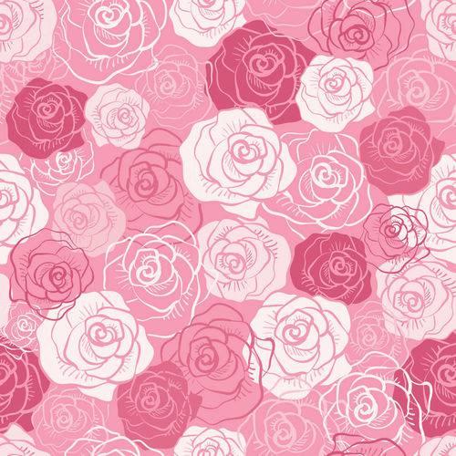 Papel de Parede Adesivo - Rosas Mistas - N0042