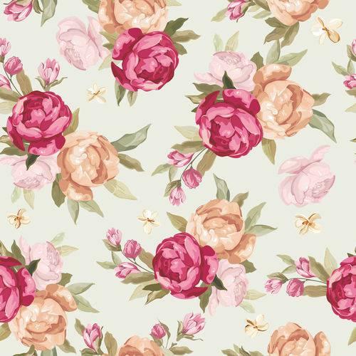 Papel de Parede Adesivo - Rosas - N0003