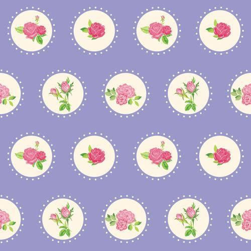 Papel de Parede Adesivo - Rosas Varidas - N0043
