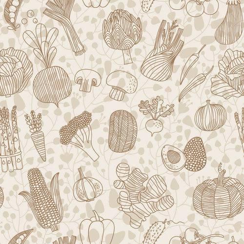 Papel de Parede Adesivo - Vegetais - N0013