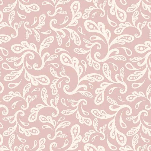 Papel de Parede Arabesco Rosa 2,70x0,57m