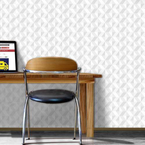 Papel de Parede Autocolante 3D Geométrico 157377395