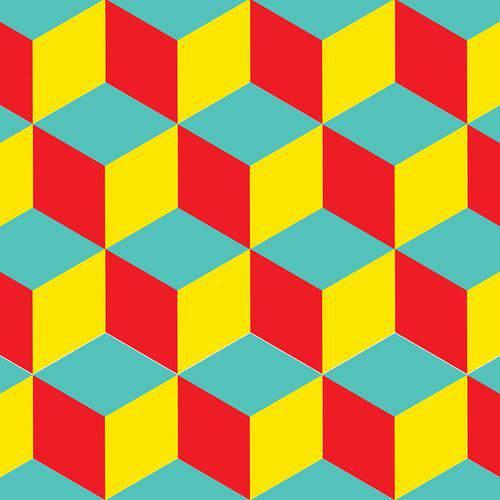 Papel de Parede Autocolante 3D Geometrico 4072481023