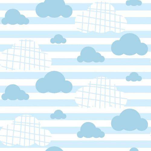 Papel de Parede Autocolante Nuvem Azul 415032361