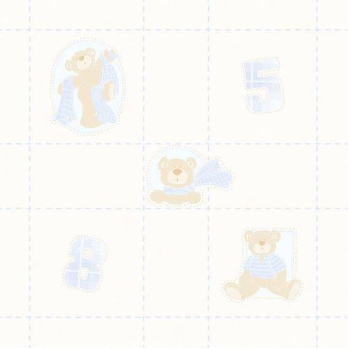Papel de Parede Bambinos Quarto Infantil Bobinex Bebê 3326