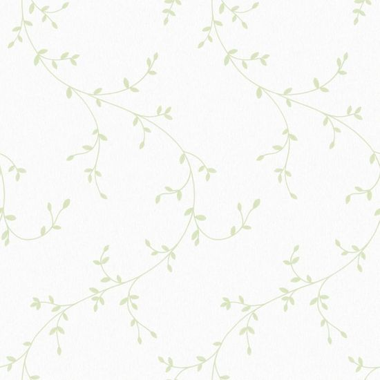 Papel de Parede Beautiful Home Floral I Vinilico Verde