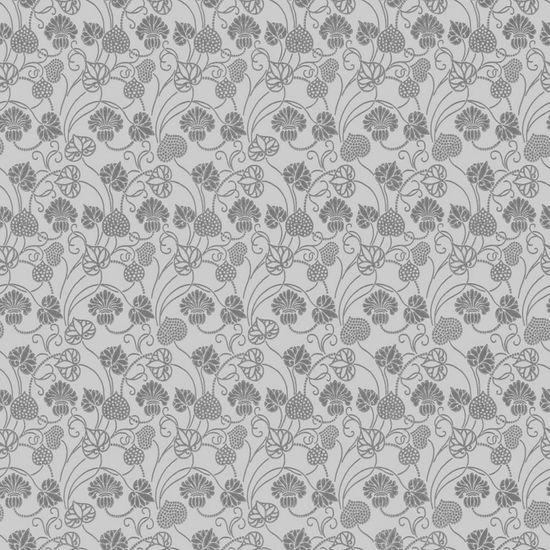 Papel de Parede Beautiful Home Floral II Vinilico Prata