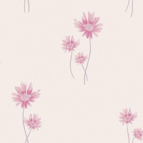 Papel de Parede Beautiful Home Floral Ii Vinilico Rosa