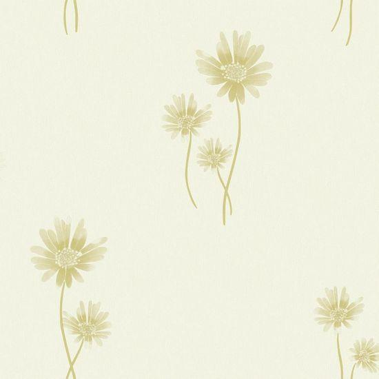 Papel de Parede Beautiful Home Floral II Vinilico Verde