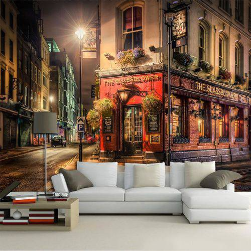 Papel de Parede 3d | Cidades Inglaterra 0011 - Adesivo de Parede