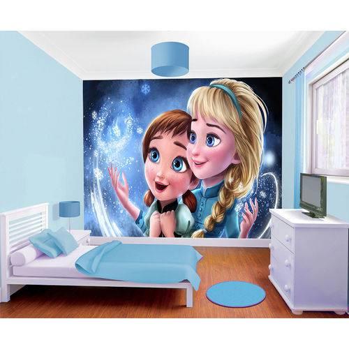 Papel de Parede da Frozen 0005 - Adesivo de Parede