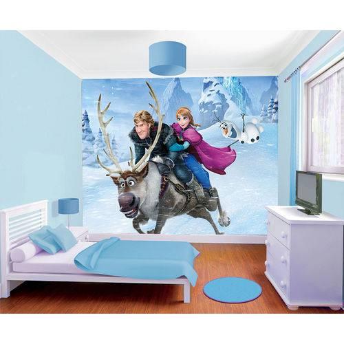 Papel de Parede da Frozen 0010 - Adesivo de Parede