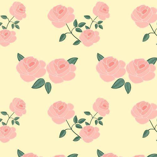 Papel de Parede Floral Rosas Amarelo 3,00m X 59cm