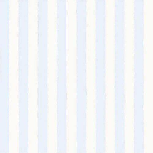 Papel de Parede Infantil Bambinos Listras Azuis 3328 10Mts
