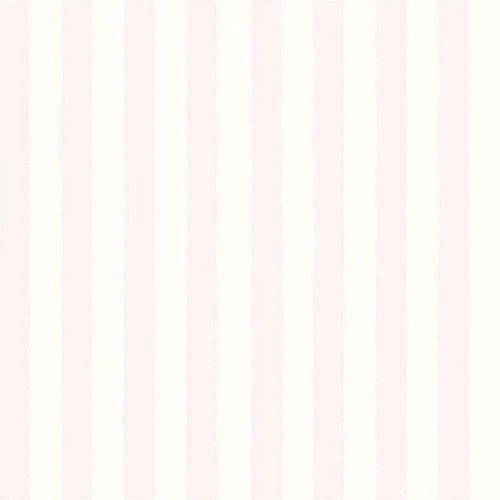 Papel de Parede Infantil Bambinos Listras Rosa 3324 10Mts