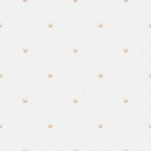 Papel de Parede Infantil Coroa 2,70x0,57m