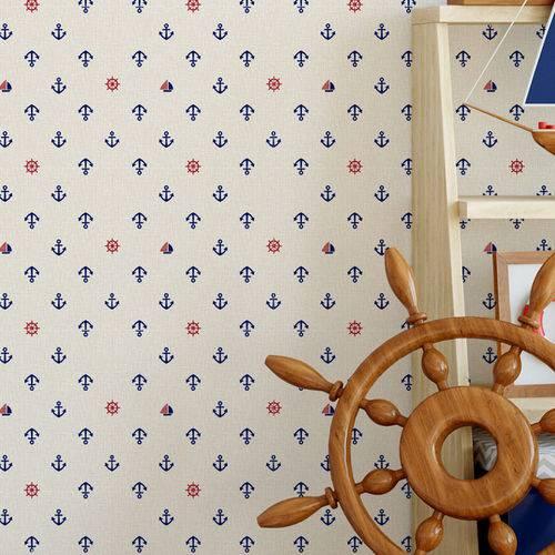 Papel de Parede Marinheiro Infantil 2,70x0,57m
