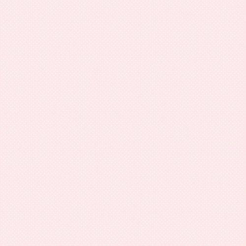 Papel de Parede Poá Rosa e Branco Bobinex Bambinos 3351