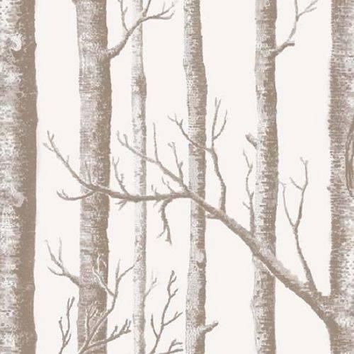 Papel de Parede Vinilico Floresta Galhos
