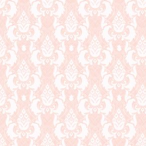 Papel de Parede Vintage Rosa Claro - P