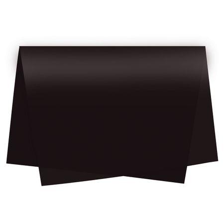 Papel de Seda Preto - 10 Unidades