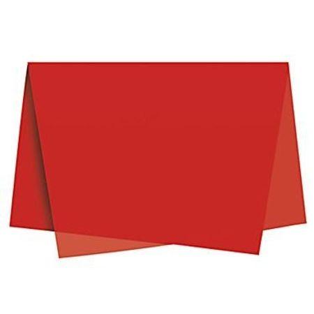 Papel de Seda Vermelho - 10 Unidades