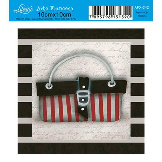 Papel Decoupage Arte Francesa Bolsa AFX-342 - Litoarte