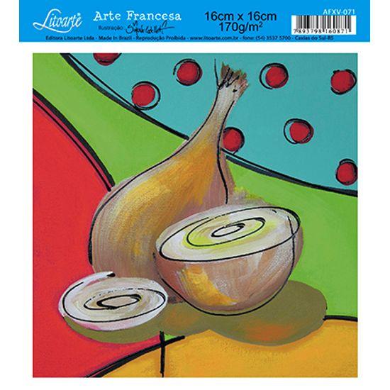 Papel Decoupage Arte Francesa Cebola AFXV-071 - Litoarte