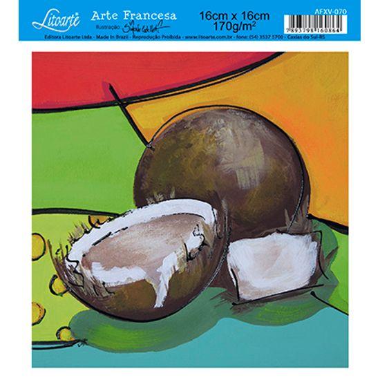 Papel Decoupage Arte Francesa Coco AFXV-070 - Litoarte