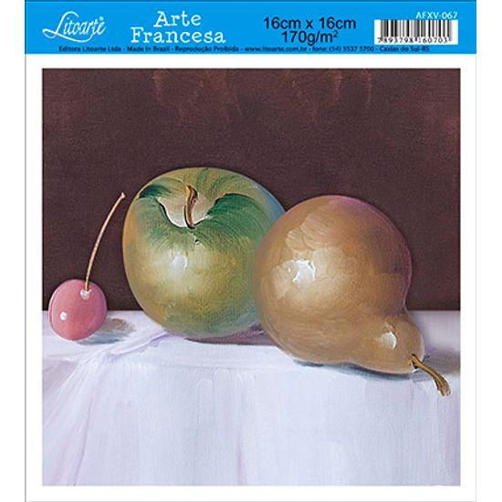 Papel Decoupage Arte Francesa Frutas AFXV-067 - Litoarte
