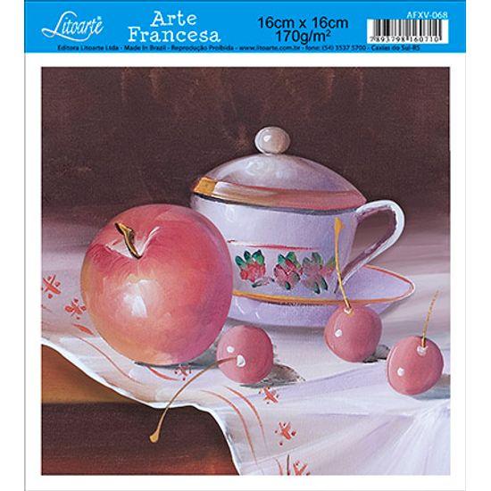 Papel Decoupage Arte Francesa Frutas AFXV-068 - Litoarte
