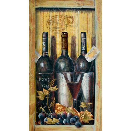 Papel Decoupage Arte Francesa Garrafas de Vinho AFV-002 - Litoarte