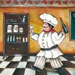 Papel Decoupage Arte Francesa Grande Cozinheiro Lfqg41 - Litocart
