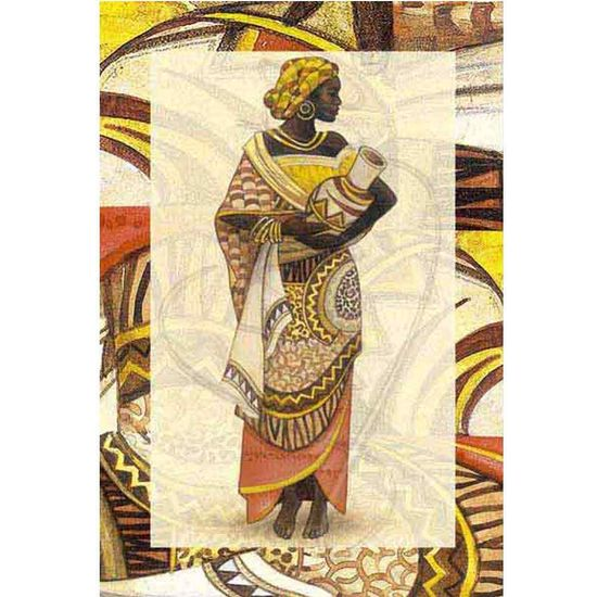 Papel Decoupage Arte Francesa Litoarte AF-025 31,1x21,1cm Angolana