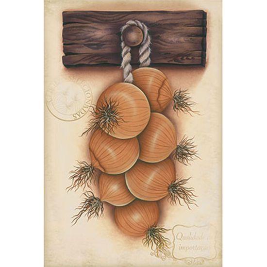 Papel Decoupage Arte Francesa Litoarte AF-236 31,1x21,1cm Cebolas