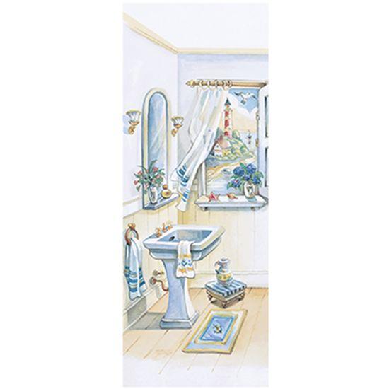 Papel Decoupage Arte Francesa Litoarte AFP-120 25x10cm Banheiro