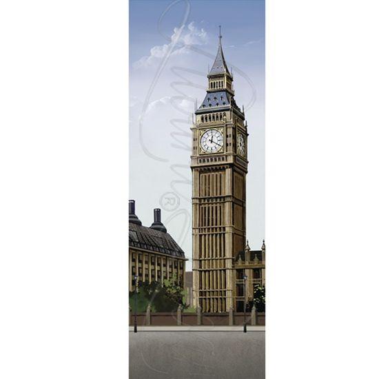 Papel Decoupage Arte Francesa Litoarte AFVE-053 22,8x62cm Big Ben