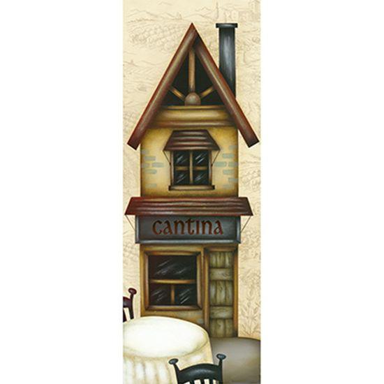 Papel Decoupage Arte Francesa Litoarte AFVE-063 22,8x62cm Casa Cantina