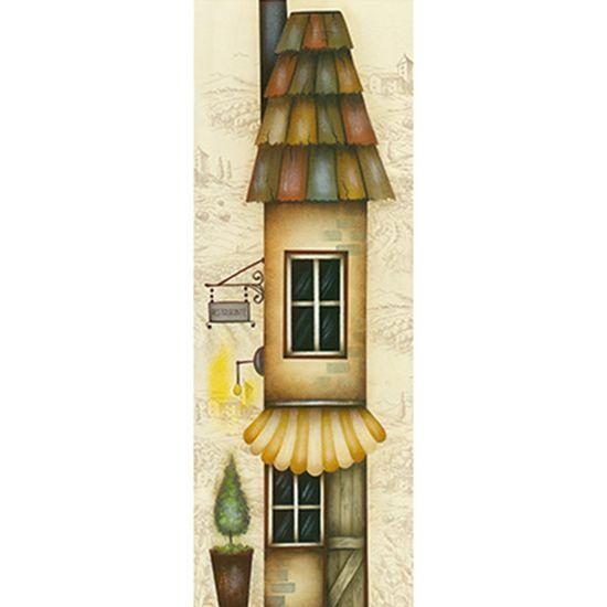 Papel Decoupage Arte Francesa Litoarte AFVE-062 22,8x62cm Casa Restaurante