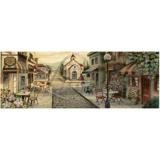 Papel Decoupage Arte Francesa Litoarte AFVE-039 22,8x62cm Casório I