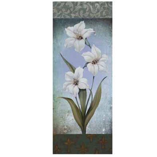 Papel Decoupage Arte Francesa Litoarte AFVM-061 17x42cm Lírios