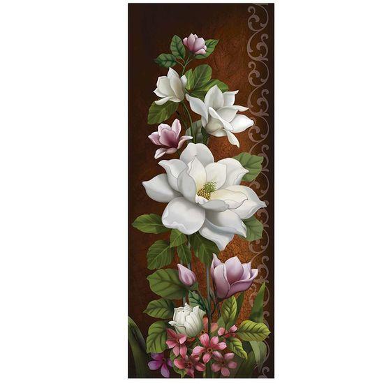 Papel Decoupage Arte Francesa Litoarte AFVM-069 17x42cm Flor Branca