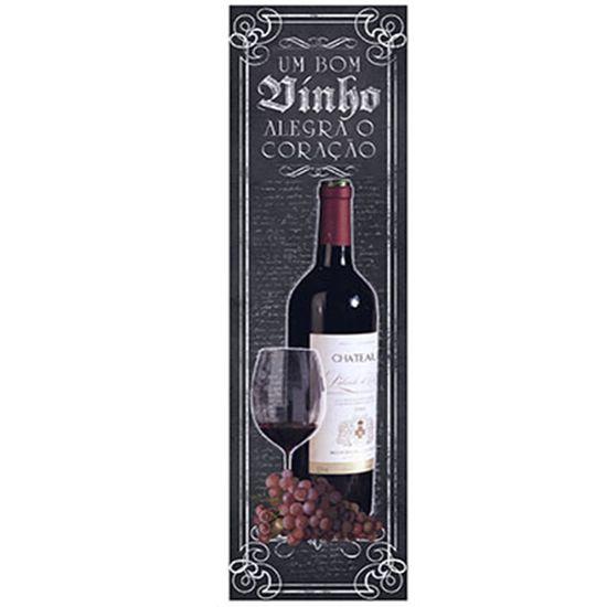 Papel Decoupage Arte Francesa Litoarte AFVP-009 10x32,8cm Vinho Tinto