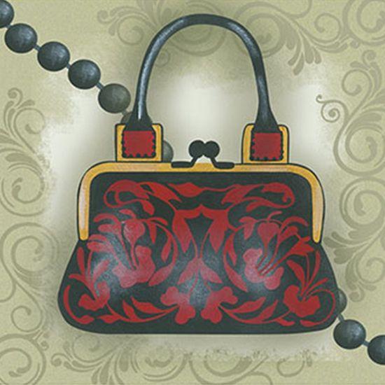 Papel Decoupage Arte Francesa Litoarte AFX-300 10x10cm Bolsa