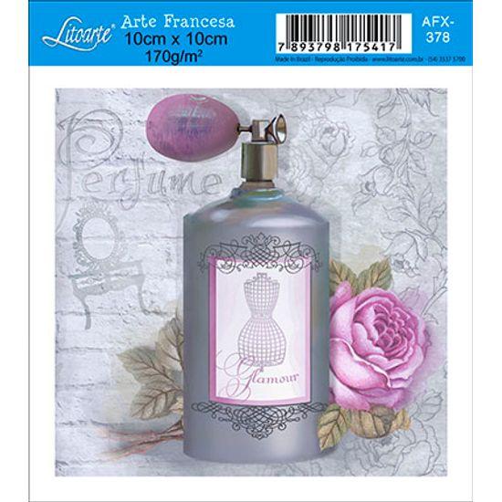 Papel Decoupage Arte Francesa Perfume AFX-378 - Litoarte