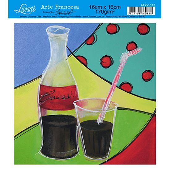 Papel Decoupage Arte Francesa Refrigerante AFXV-072 - Litoarte